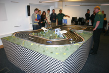 Codemasters-F1-Game-Launch-Scalextric-Event