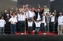 Silverstone-Podium-Event-Team-Building